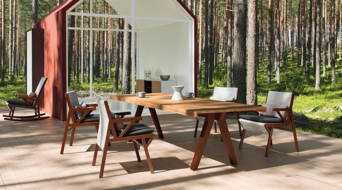 Vieques tafel ✓ van valderen exclusieve tuinmeubelen ✓ nl be