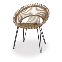 Vincent garden dining chair Roxy natural