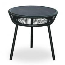 Vincent garden loop side table