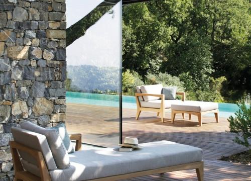 Royal Botania Zenhit chaise longue