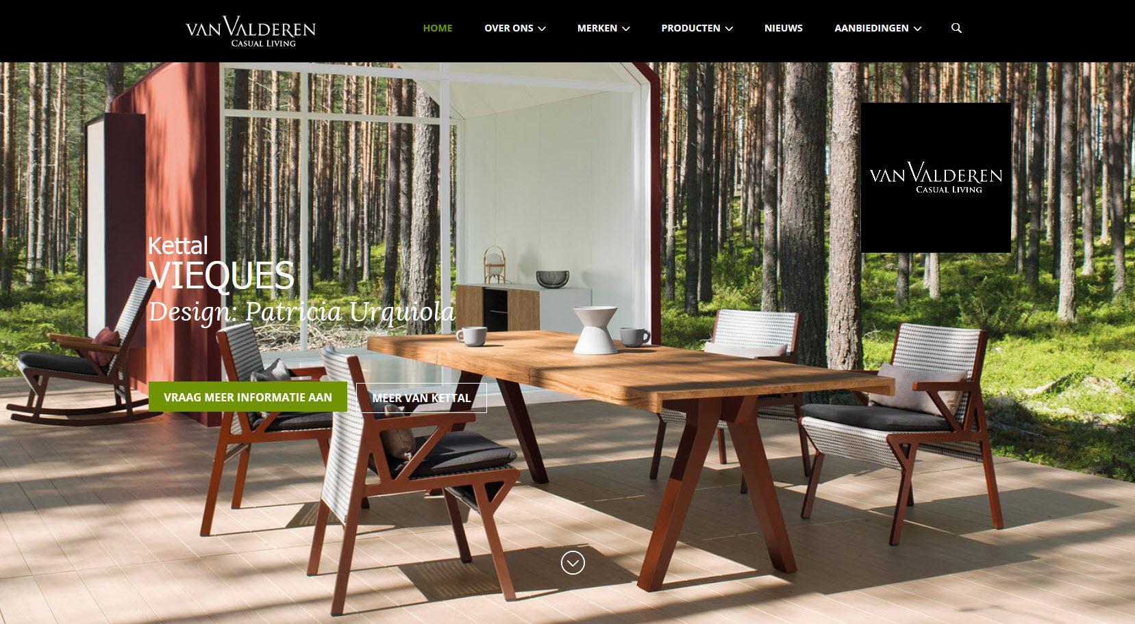 Achtergrond website van valderen u2022 van valderen exclusieve tuinmeubelen
